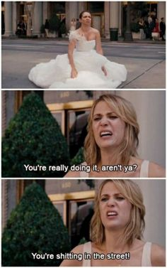 my fave part of the whole movie... bridesmaid dress shopping