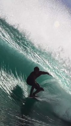 Clay Marzo surfing overhead waves in Australia. surf video created by Tom Jennings in No Wave, Big Waves, Ocean Waves, Beautiful Ocean, Amazing Nature, Surf Mar, Surfing Videos, Ocean Video, Big Wave Surfing