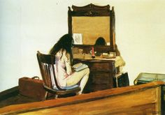 'Reading is that fruitful miracle of a communication in the midst of solitude'  Marcel Proust Model reading, E Hopper.