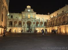 Bishop Palace in the Duomo Square of Lecce. Visit web site for more pictures!