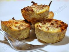 Savory Dukan Muffins with Minced Steak - In the Kitchen of Audinette - Here is a Dukan recipe to vary the PP days. Greek Recipes, Light Recipes, Raw Food Recipes, Meat Recipes, Healthy Recipes, Dinner Recipes, Steaks, Pie Co, Dukan Diet Recipes