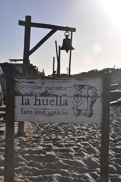 Beach restaurant La Huella in Uruguay #dreamvacations