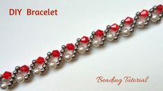 Simple and quick tutorial for a beautiful classic bracelet. Perfect for ...