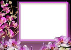 Flower Frame Png, Borders And Frames, Purple Flowers, Wedding Invitations, Arts And Crafts, Holiday, Writing Papers, Beautiful, Design