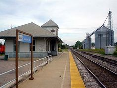 Historic City of Lapeer Train Depot
