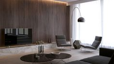 Time to know how this living room designs are fitted for your home interior decor inspirations! Come and find out why this is these are the living rooms are a must have! Living Room Tv, Living Room Modern, Living Room Interior, Living Room Designs, Contemporary Interior, Modern Interior Design, Minimalist Living, Modern Minimalist, House Design