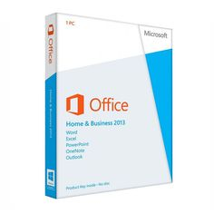 Microsoft Office Home and Business 2013 X32/64BIT ENG FPP