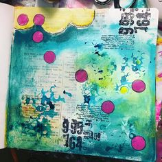 """90 Likes, 5 Comments - ArtGirlCreations78 (@artgirlcreations78) on Instagram: """"#wip #paperbagstudio #stamps #artjournal #artjournaling #layers #tootiredtohashtag"""""""