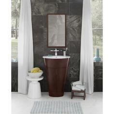 "Ronbow `Leonie` 23"" Single Bathroom Vanity with Mirror   $1,999.99"