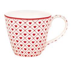Verliebt in einen Becher * Herzchen Latte cup Haven White von Green Gate