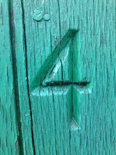 Number - 4 by szczel, via Flickr