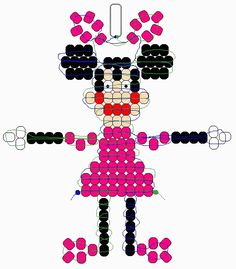 Minnie Mouse beadie pattern