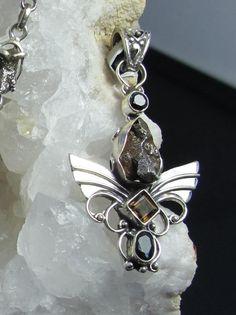 Prasiolite 925-Argent Vintage Handmade Ring Jewelry Moldavite météorite