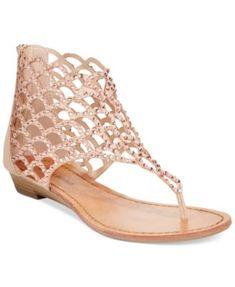 ZiGi Soho Mela Caged Flat Thong Sandals