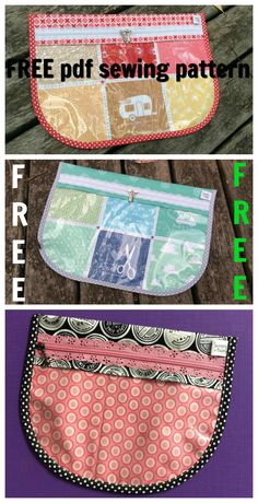 Download this pdf sewing pattern and make this awesome lace zipper pouch. It is such a versatile pouch, you could make it to carry sewing supplies, kids school supplies, nappy supplies, pencils, pens....it could be anything!