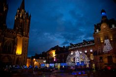 Coutances, Normandy (50, La Manche), France, at Christmas PHOTO: AMY RALSTON #France #Normandy www.amyralston.com