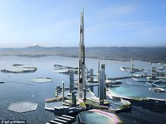 There are plans to build an extraordinary one mile high (5,577ft) skyscraper in a new Japa...