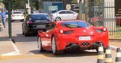 PF apreende Ferrari, Porsche e Lamborghini na casa de Collor