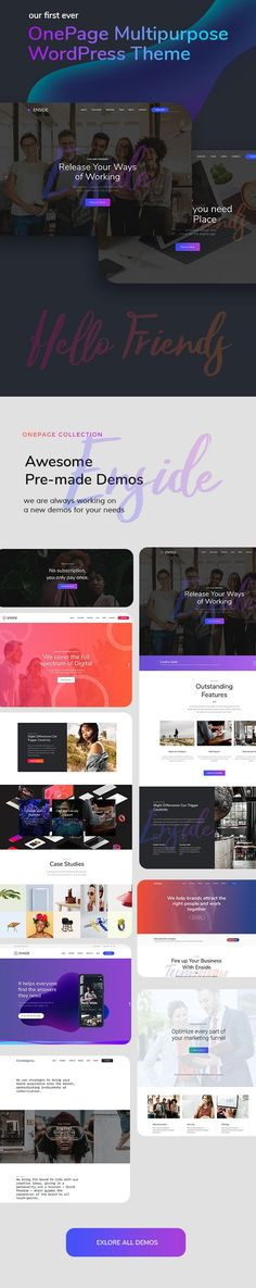 60 best WordPress Portfolio Themes images on Pinterest in 2018