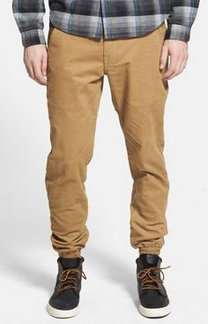 Published Brand Textured Stretch Twill Tan Jogger Pants – Price $67.00