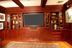 Built in Entertainment Wall Units   Do you want to work with Z Carpentry Inc. on an existing project?
