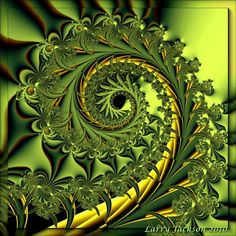 pretty fern-like fractal   Garden Variety Spiral by Actionjack52.deviantart.com  via Stonefinder