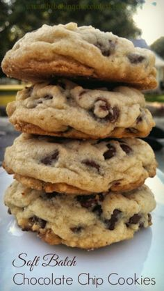 Art On Sun: OMG Soft Batch Chocolate Chip Cookies! Pure Nirvana! – The Baking ChocolaTess