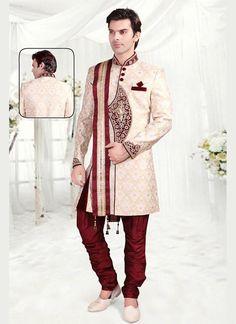 Readymade Wedding Bollywood Indian Mens Designer Ethnic Dress Sherwani Indostyle #tanishifashion