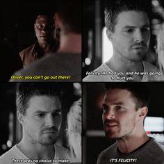 Oliver & Diggle #Arrow