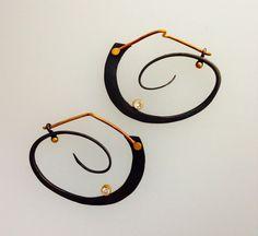 earrings - barbara umbel jewelry design