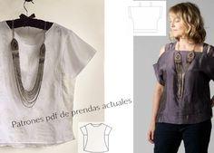 Bricomoda : Patrones en pdf de prendas actuales