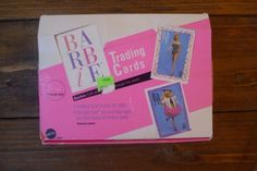 New SEALED Lot of Vintage Barbie Trading Cards with Display Box Mattel | eBay