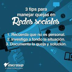 #TipsMicrosip 3 tips para manejar quejas en redes sociales