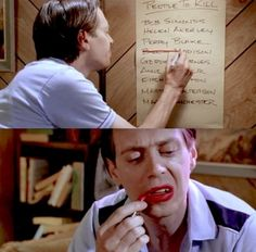 """You still have a hard time taking Steve Buscemi seriously. 