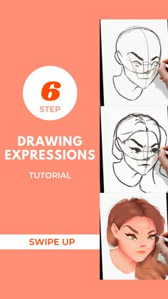This tutorial is going to change your character game! You'll learn how to add another layer of life behind those eyes! They'll be so realistic it'll probably creep you out! Don't miss out on this tutorial! Drawing Expressions, Facial Expressions, Art Tutorials, Drawing Tutorials, Learn Art, Find Art, Hand Lettering, Change, Watercolor