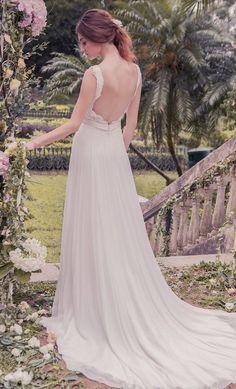 Featured Dress: Snow by Annasul Y; Wedding dress idea.