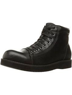 Eastland Men's Aiden Chukka Boot, Black, 12 D US ❤ Eastland