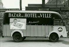 Camion du BHV. Paris, 1950s / 1960s