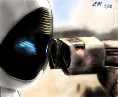WALL E and EVE by ~Scourge07