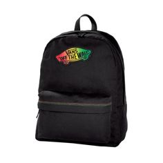Shop for Vans Off The Wall Backpack in Black at Journeys Shoes. Shop today for the hottest brands in mens shoes and womens shoes at Journeys.com.Canvas backpack from Vans features rasta logo patch and adjustable shoulder straps.