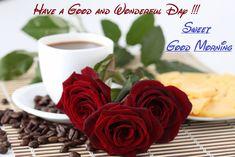 Good Morning Wish You Sweet Day