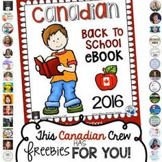 Back to school freebie!  Tips, freebies and resources provided by some amazing Canadian teacher authors just for you!