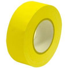 Gaffer's Tape - Yellow - 2 inch