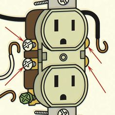 Illustration: Harry Campbell | thisoldhouse.com | from Inside an Electrical Outlet