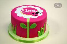 cute ladybug cake
