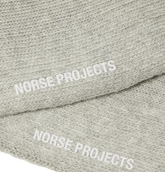 NORSE PROJECTS BJARKI STRIPED MÉLANGE STRETCH COTTON. #norseprojects #cloth Norse Projects, How To Know, Grey, Cotton, Style, Gray, Swag, Outfits