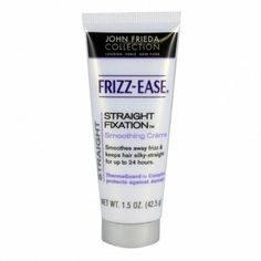 This really works for curly hair that you want to blow dry straight without any frizzy hair.