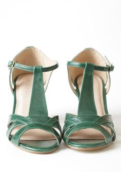 Nicole T-strap Heels By Chelsea Crew