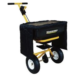 Yardworks 85 lb Push Broadcast Spreader >>> Find out more about the great product at the image link.