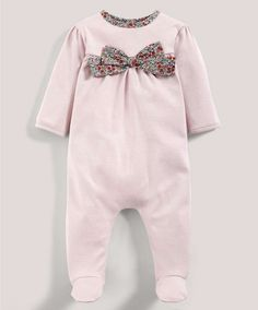 Liberty Emilias Flower Bow All-in-One - Liberty Clothing - Mamas & Papas